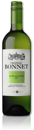 bottle château Bonnet white 2011