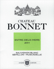 label Château Bonnet white 2011