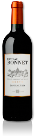 2014 red Château Bonnet Reserve bottle