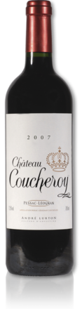 bottle château Coucheroy red 2007