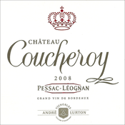 label château Coucheroy red 2008