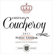 label château Coucheroy red 2011