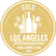 gold medal - Los Angeles International Wine & Spirits Competition