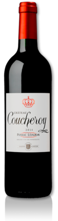 2014 red Château Coucheroy bottle