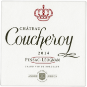 2014 red Château Coucheroy label