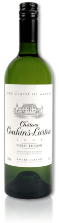 bottle château Couhins-Lurton white 2005