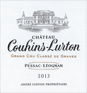 2013 château Couhins-Lurton white label