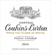 2016 white Château Couhins-Lurton label