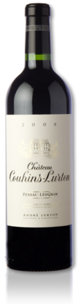 bottle château Couhins-Lurton red 2008