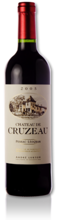 bottle Château de Cruzeau red 2005