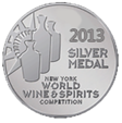 2013 New-York World Wine and Spirits Competition silver medal