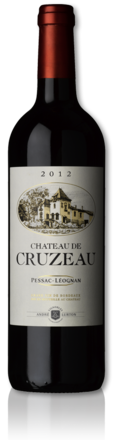 bottle château de Cruzeau red 2012