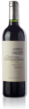 bottle château Grossombre de Saint-Joseph red 2006