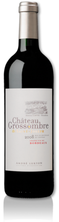 bottle château Grossombre de Saint-Joseph red 2008