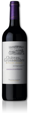 bottle Château Grossombre de Saint-Joseph red 2009