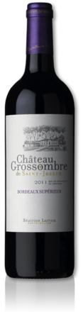 bottle château Grossombre de Saint-Joseph red 2011