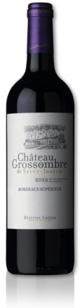 bottle château Grossombre de Saint-Joseph red 2012