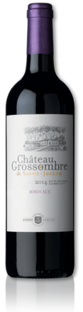 2014 château Grossombre de Saint-Joseph bottle
