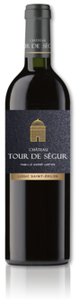 bottle of 2016 Château Tour de Ségur red