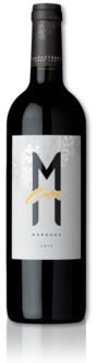 bottle of 2015 Cuvée M
