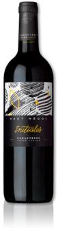 bottle of 2015 Initiales red