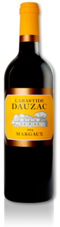 bottle of 2014 Labastide Dauzac