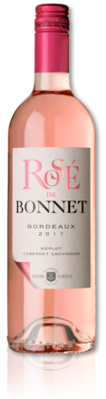bottle of 2017 Rosé de Bonnet