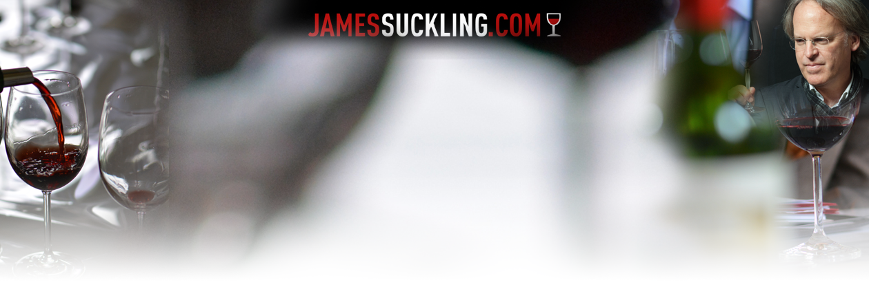 James Suckling tastings