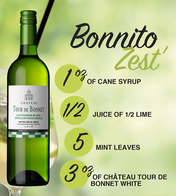Bonnito Zest' recipe