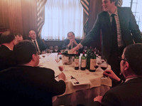 2)	Tasting at the University Club in New York